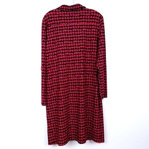 Jude Connally Dresses - JUDE CONNALLY Long Sleeve Shift Dress Houndstooth
